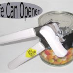 Safe Can Opener prevents metal shavings in your food